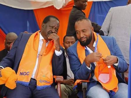 ODM suffer a blow after losing another strong member to DP Ruto's TangaTanga