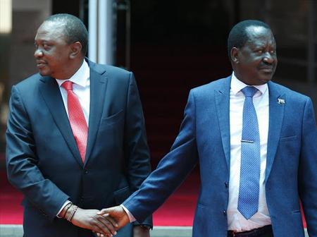Finally Kenyans Assured That The Handshake Is Intact And BBI Referendum Will Take Place Before June