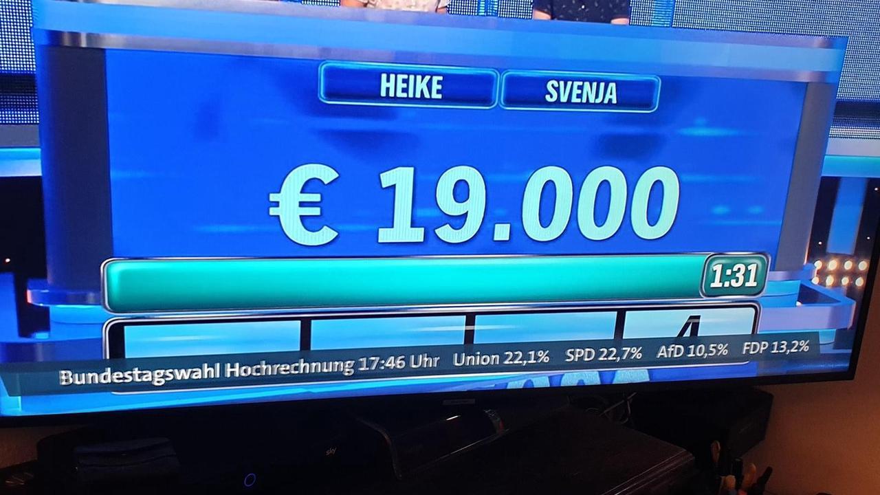 Panne live im TV! ARD zeigt Wahl-Hochrechnung zwei Tage VOR der Wahl