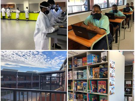 OFFICIAL OPENING PICS : State-of-the-art 255 million Anton Lembede Maths, Science and Tech Academy