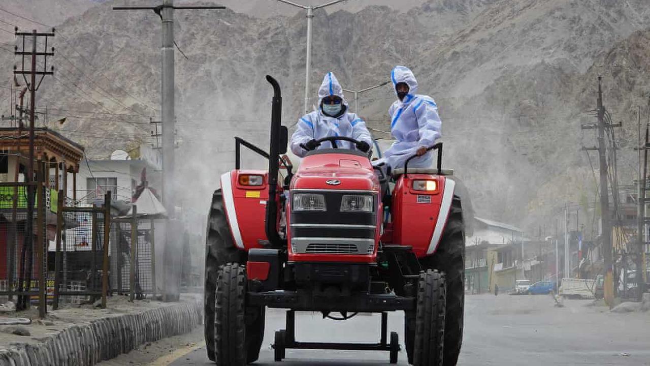 Covid rips through rural India's threadbare healthcare system