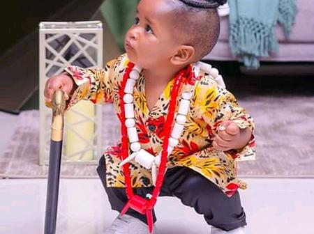 Weuwee! See The New Look Of Bahati's Son (Photos)