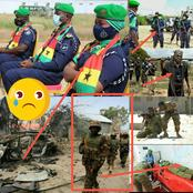 (35+ Photos)Pray For Ghanaian Peacekeepers: Amisom Soldiers In Combat Against Terrorists In Somalia