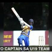 Cape cobra's Smith to captain SA cricket U19s