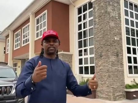 Enyeama Thanks Kanu For Visiting And Marketing His Multi-purpose Events Centre In Uyo