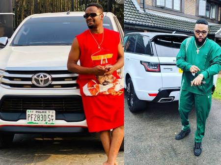 Checkout Pictures Of Zubby Micheal And E-Money Flaunting Multi-Million Exotic Cars