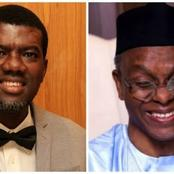 Check Out What Reno Omokri Said About El-Rufai That Is Causing Reactions