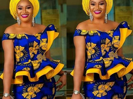 Enjoy Easter Sunday with any of these latest Ankara skirts and blouses