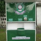 Rivers State University Launches Big Hand Washing Machine Ahead Of Resumption