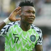 Check the amount Super Eagle Player, Samuel Kalu receives Weekly in Naira