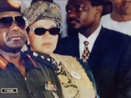 Abacha didn't die on top of women or of a poisoned apple