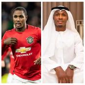 See How Odion Ighalo Showed his Arab Diplomacy as he Tagged His Arab Styled Photo TGIF