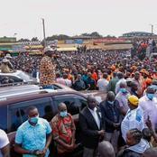 Raila Clashes With Kingi At The Coast