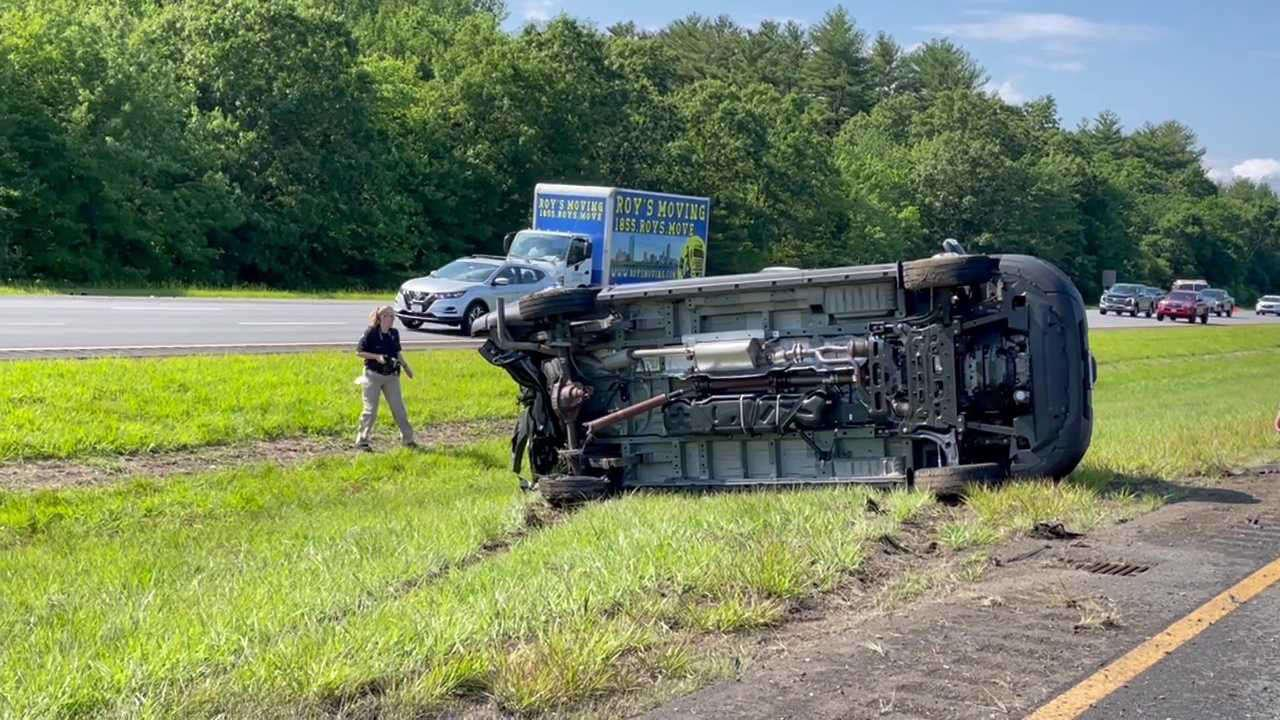 Severe injuries reported after multi-vehicle crash on I-95