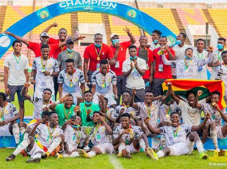 Black Satellites Of Ghana In Pole Position To Win U-20 Africa Cup Of Nations