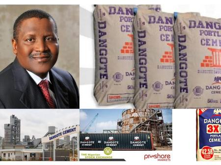 Check Out The Prices Of Dangote Cement In Other African Countries Compared To Nigeria