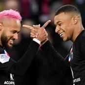 He is always happy - Neymar Jnr. speaks positive of Kylian Mbappe