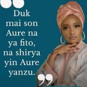 Check Out what Rahama Sadau said after Newspaper post her picture said she is looking for a husband