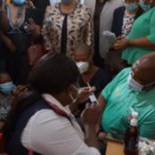 Bad news for South Africans as COVID-19 shots vaccines run out.