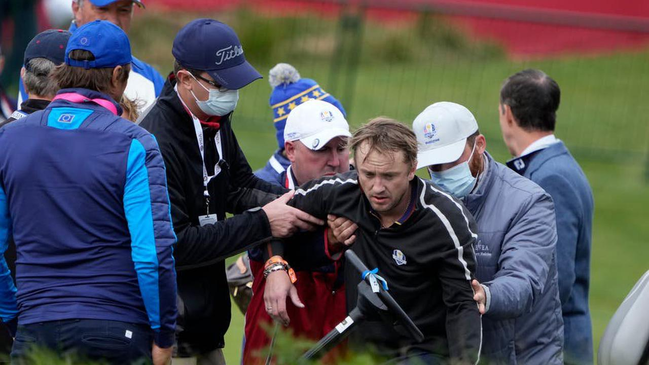 Harry Potter star Tom Felton collapses during celebrity golf match ahead of Ryder Cup
