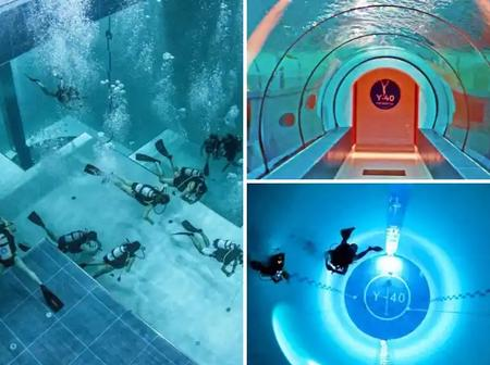 'See The Deepest Swimming Pool In The World (Photos)
