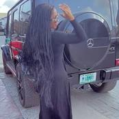 Mercy Eke acquires new G-Wagon Mercedes Benz