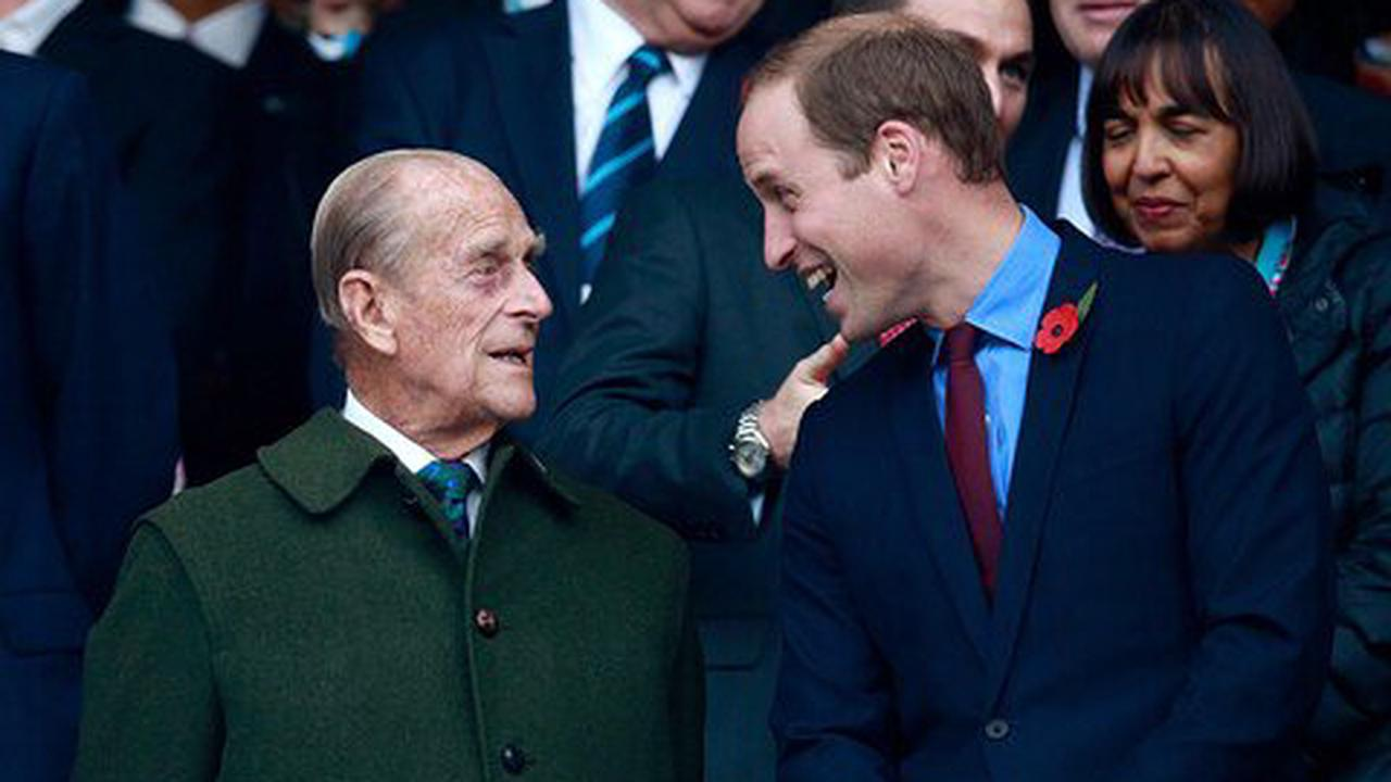 Prince Philip the grandfather: mentor, role model and sounding board