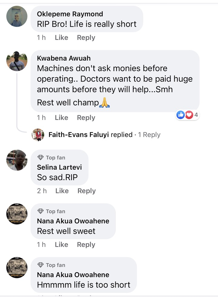 8e71ebfbed7c612e2c20d3adb43632d8?quality=uhq&resize=720 - Life is too short: Ghanaians reacts sadly to the death of Ray Styles - See comments