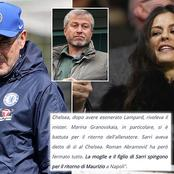 This Was What Chelsea Chief Marina Granovskaia Wanted After Frank Lampard was Dismissed As A Coach.