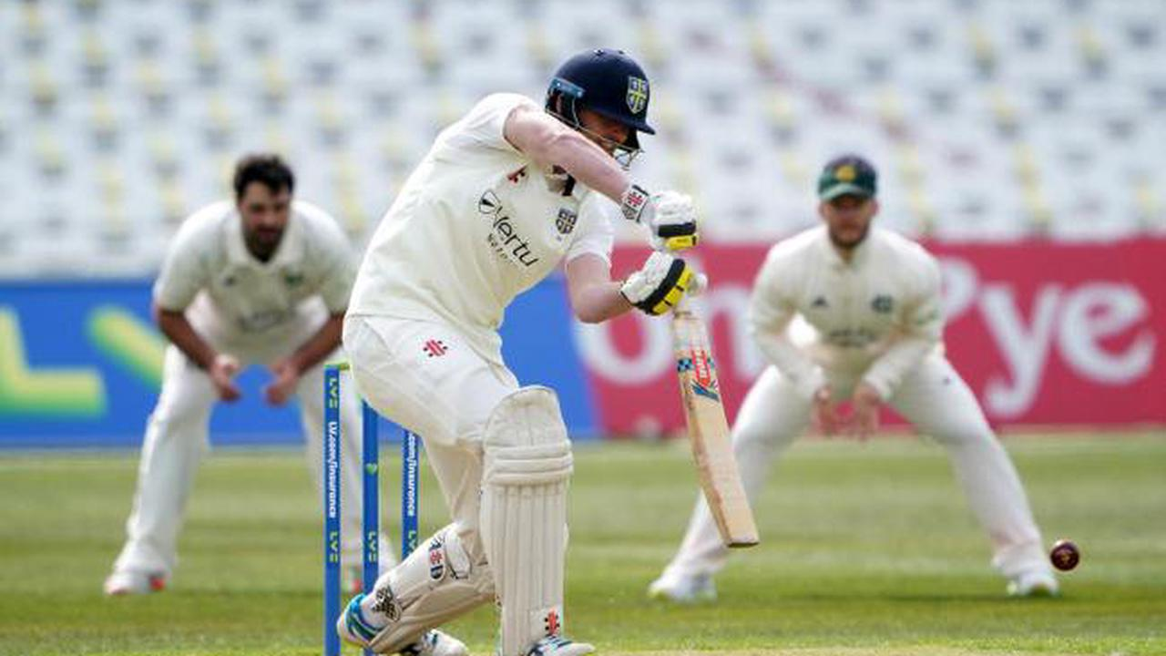 Durham's opening-day momentum is checked against Notts
