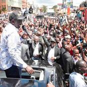 Uyu Mtu Wa Kupigwa Na Bibi Ataeza Endesha Serkali Kweli? Ruto Leaves Supporters in Stitches [Video]