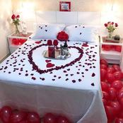 Best honey moon bed decorations for couples (photos)