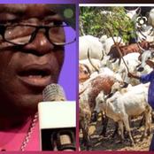 See What Bishop Udeh Said About Fulani Herdsmen Planning To Islamize Southern Nigeria