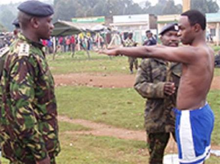 KDF: Applicants Who Have Been Shortlisted As Specialist Officers And GSO Cadets Undergraduate