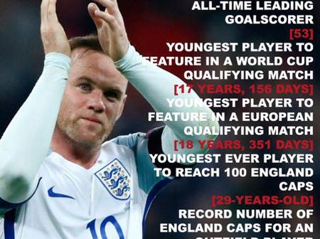 After announcing his retirement, this is why Wayne Rooney is celebrated. See individual records
