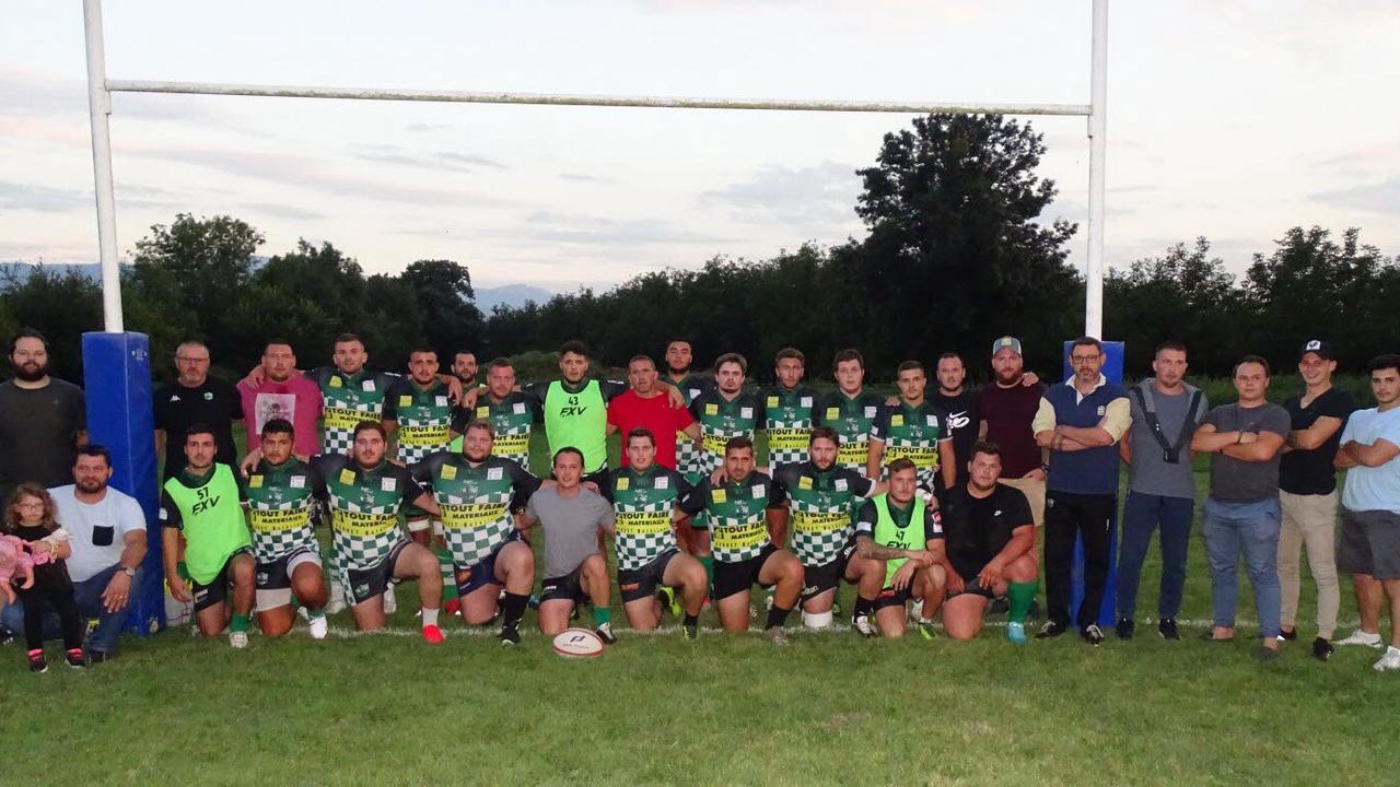 Dernière rencontre de préparation pour les rugbymen