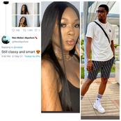 Check Out Neo's Lovely Comment On Vee's Stunning Recent Photos.