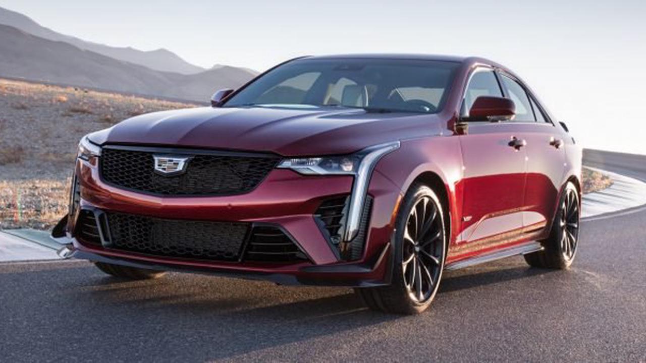2022 Cadillac CT4-V Blackwing Option Pricing Summary