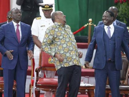 Uhuru Is At Work, Ruto On A Campaign Trail, Raila On the Crossroads, Analyst Says