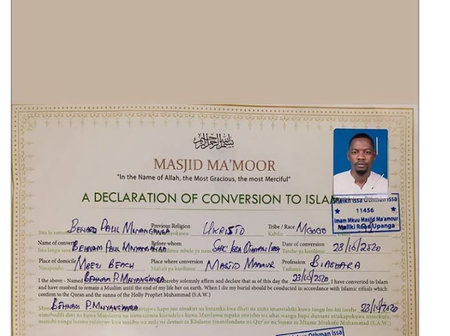 Ben Pol converts to Islam after break up with Anerlisa Muigai
