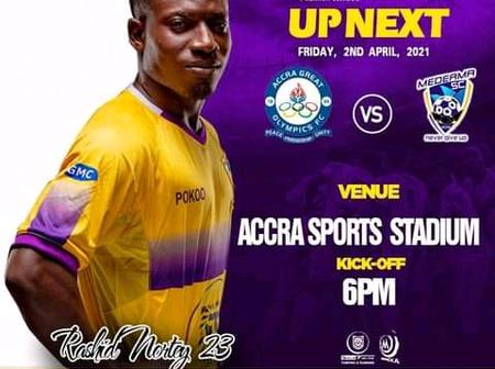 Second round of the 2020-21 GPL season begins as Great Olympics host Medeama SC on Friday