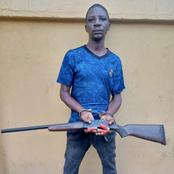 Lukman was arrested after he shot a man passing by, see what police recovered after arresting him