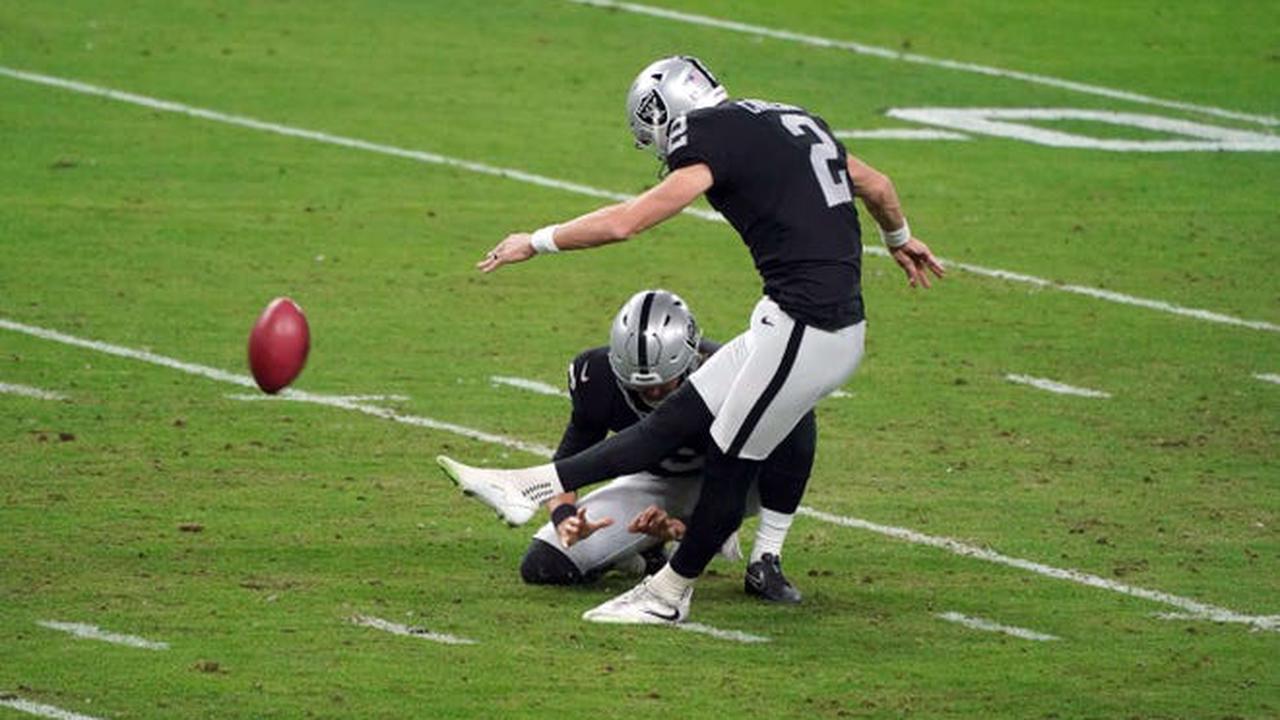 Auburn in the NFL Week 16: Carlson's late field goal not enough for Las Vegas
