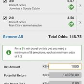 Six Mega Winning GG, Over 2.5 Multi bets With Great Odds To Guarantee you Huge Returns This Tuesday