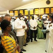 75è anniversaire du PDCI: Ce que le Père Agnigori a dit à la délégation de Bédié