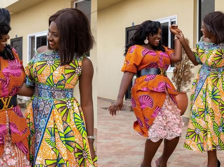 See Beautiful Pictures Of Emilia Brobbey And Martha Ankomah That's Causing A lot Of Traffic Online