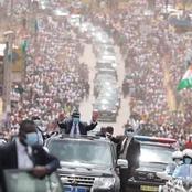 Visite d'État dans la Marahoué : foule à Bouaflé pour recevoir le Président Ouattara
