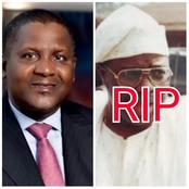 SAD: The Billionaire Businessman That Died Today Was The Richest Man In Nigeria Before Aliko Dangote