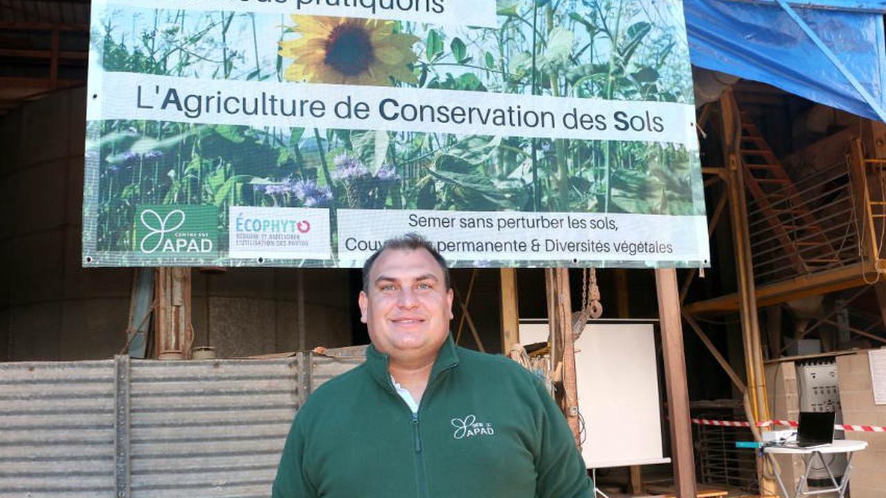 L'agriculture de conservation place le sol au cœur du système productif : les vers de terre leur disent merci !