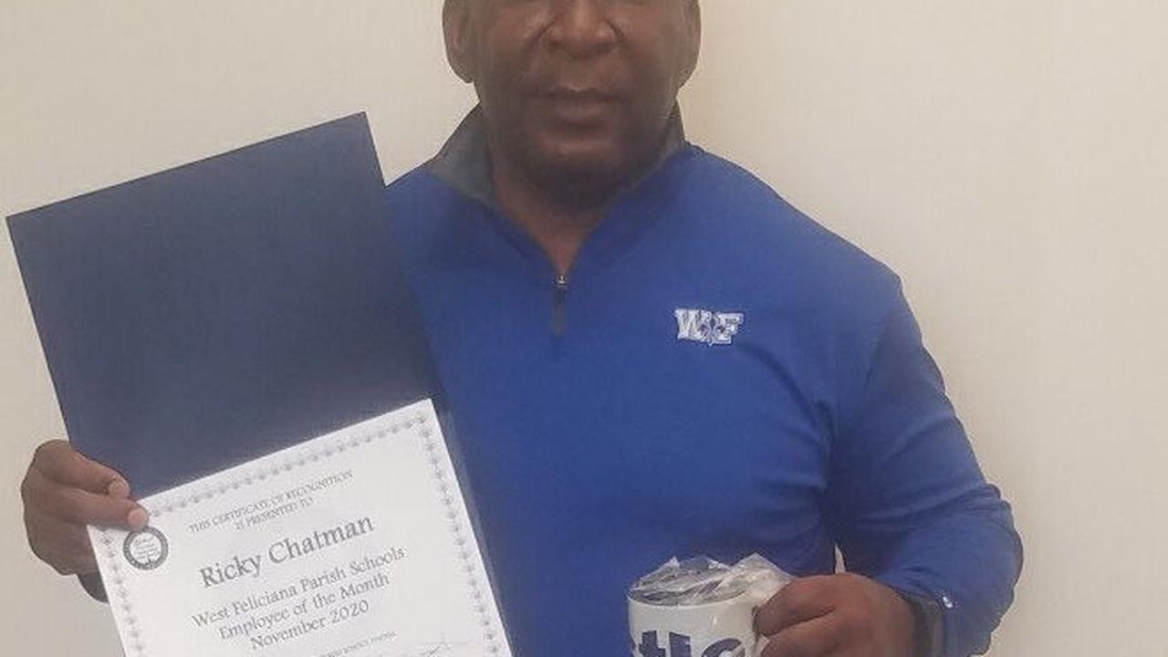 West Feliciana schools honors November employees of the month